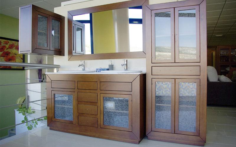 Aseo Adaptado Medidas:Muebles de baño y aseo de madera Carpintería ebanisteria Salvador