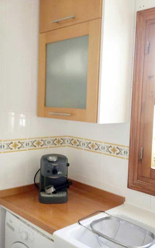 Muebles de cocina de madera carpinter a ebanisteria - Cocina encimera teka 4 platos ...