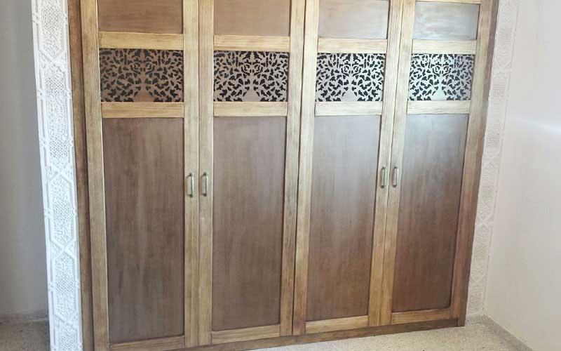 Muebles de dormitorio de madera. Carpintería ebanisteria Salvador ...
