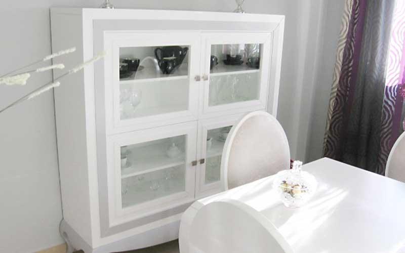 Muebles de sal n comedor de madera carpinter a for Muebles salon completo