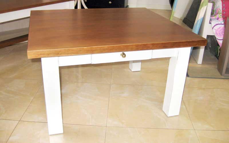 Muebles de sal n comedor de madera carpinter a - Mesita de salon ...