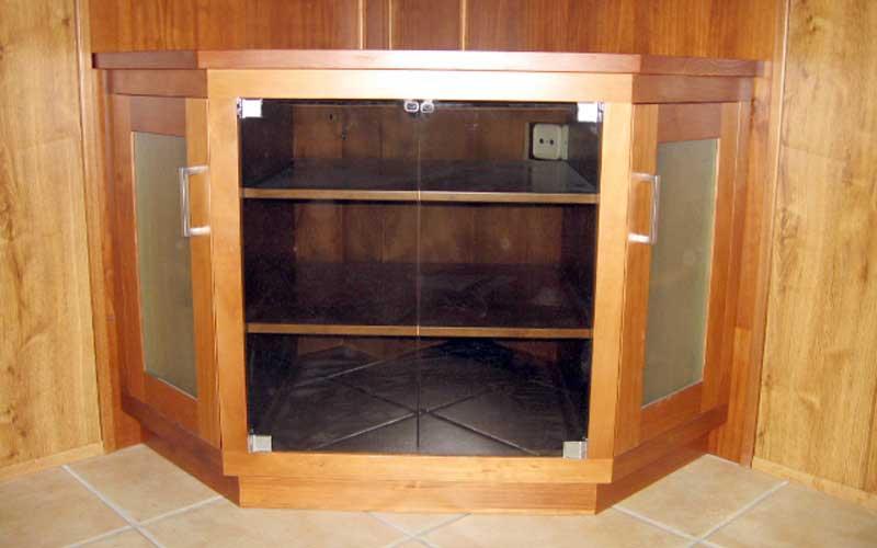 Muebles de sal n comedor de madera carpinter a - Muebles de rinconera ...